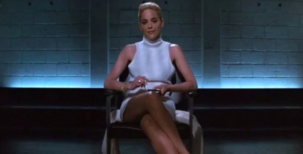 "Sharon Stone in ""Basic Instinct"" (1992)"