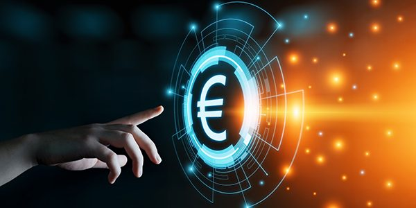 Euro Currency Money Symbol Icon Sign. Business Finance Concept.